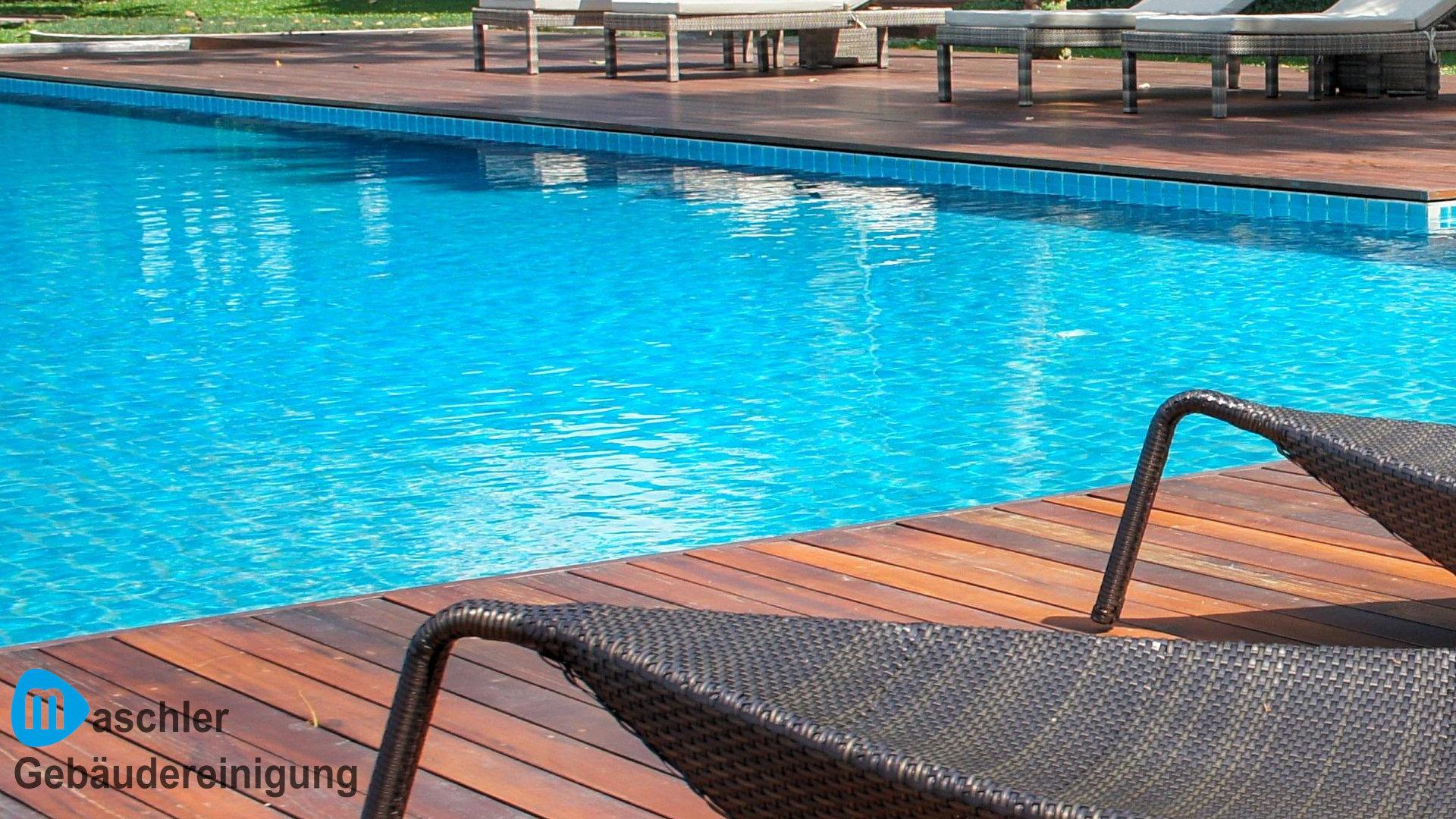 Schwimmbad reinigen & pflegen - Gebäudereinigung Maschler Schwerin